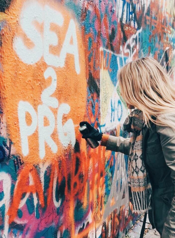 Things to do in Prague: John Lennon Wall