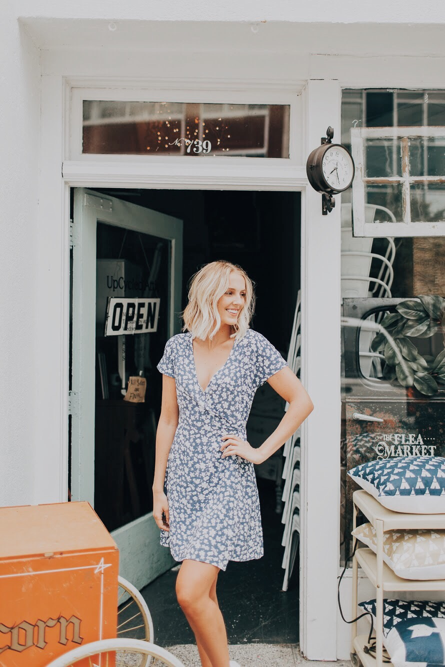 Casual Wrap Dress