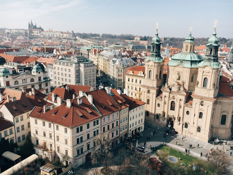Things to do in Prague: Prague Old Town Square: view from Old Town Hall